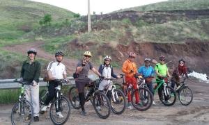دوچرخه در طبیعت